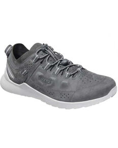 Keen Men's Castle Rock Drizzle Highland Lace-Up Hybrid Hiking Shoe , Grey, hi-res