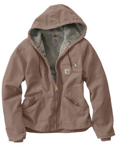 Carhartt Women's Sandstone Sierra Work Jacket, Grey, hi-res