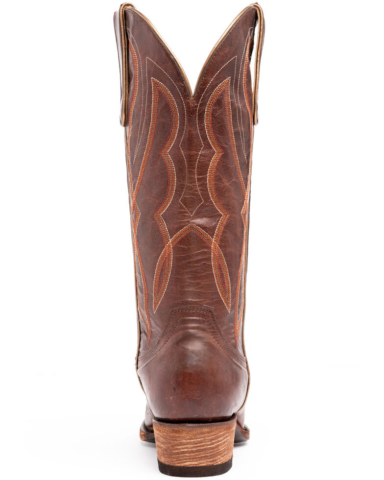 Idyllwind Women's Grit Western Performance Boots - Snip Toe, Cognac, hi-res