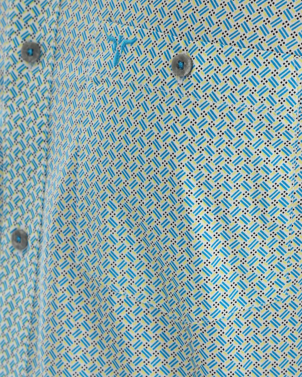 Wrangler 20X Men's Blue Competition Advanced Comfort Shirt , Blue, hi-res