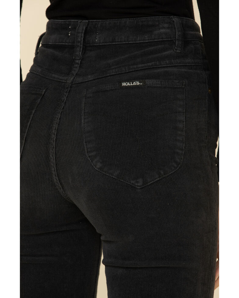 Rolla's Women's Eastcoast Flare Pants, Black, hi-res