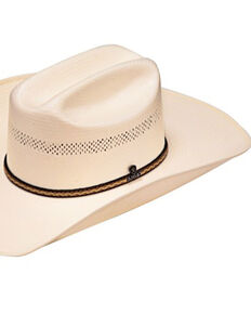 Ariat Men's 10X Straw Cowboy Hat, Natural, hi-res
