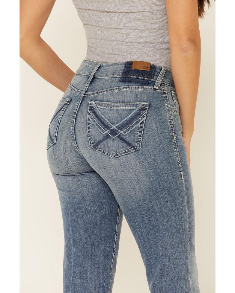 Ariat Women's Beatrice Trouser Leg Jeans, Blue, hi-res