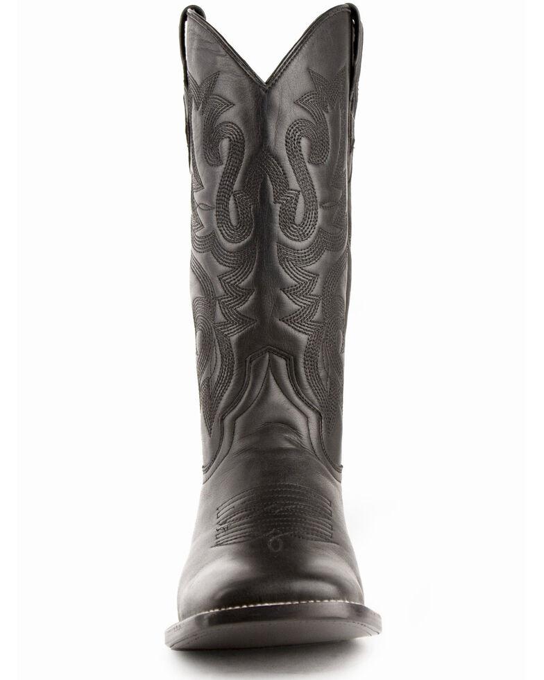 Ferrini Men's Jackson Western Boots - Wide Square Toe, Black, hi-res