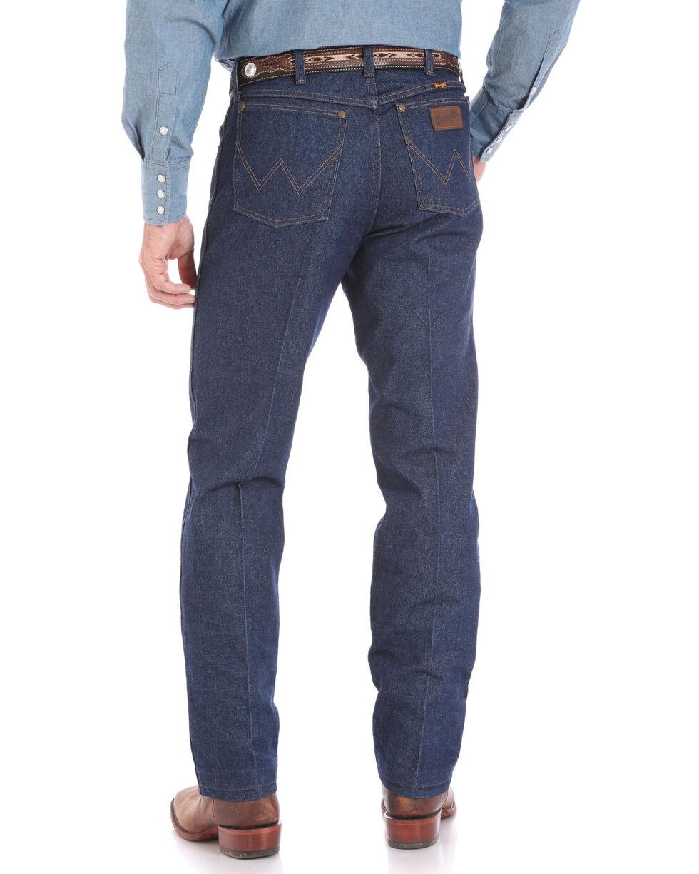 Wrangler Men's Rigid Premium Performance Cowboy Cut Fit Jeans - Big , Blue, hi-res