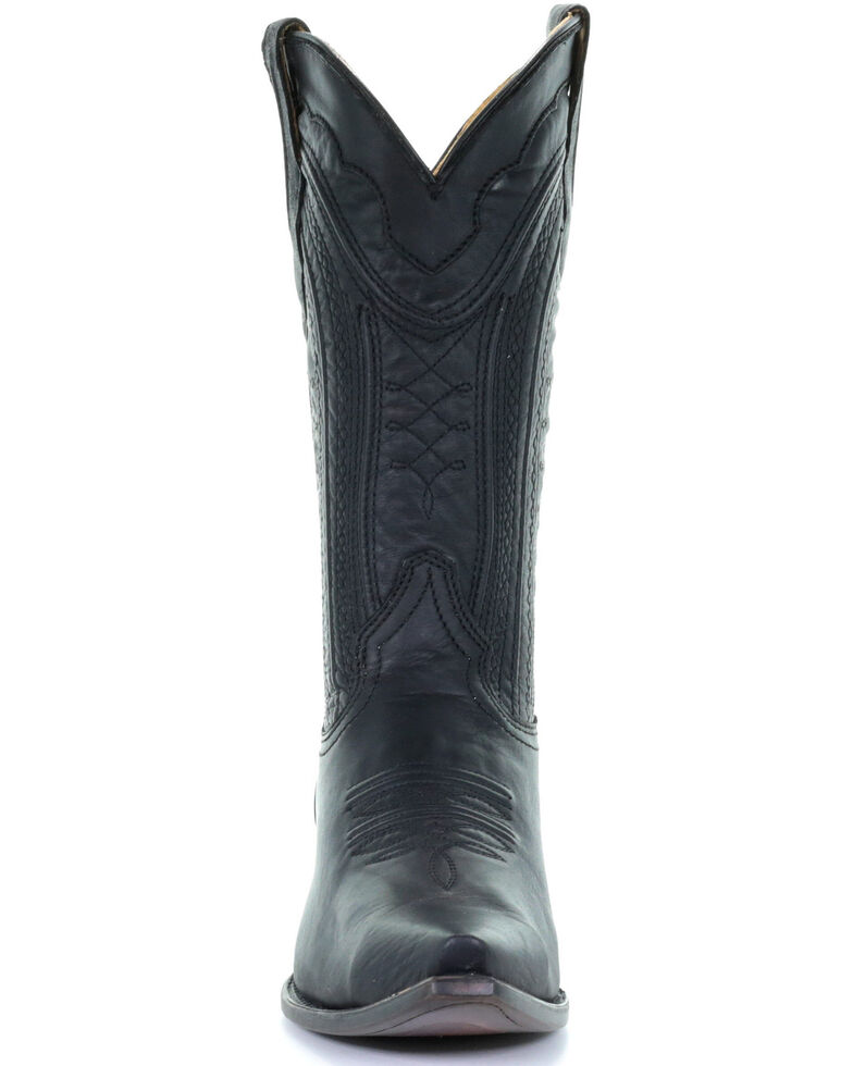Corral Men's Luke Western Boots - Snip Toe, Black, hi-res