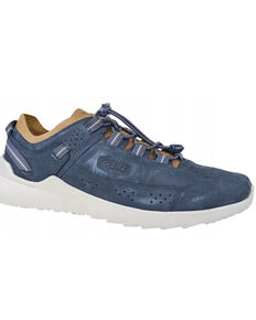 Keen Men's Blue Nights Drizzle Highland Lace-Up Hybrid Hike Sneaker , Blue, hi-res