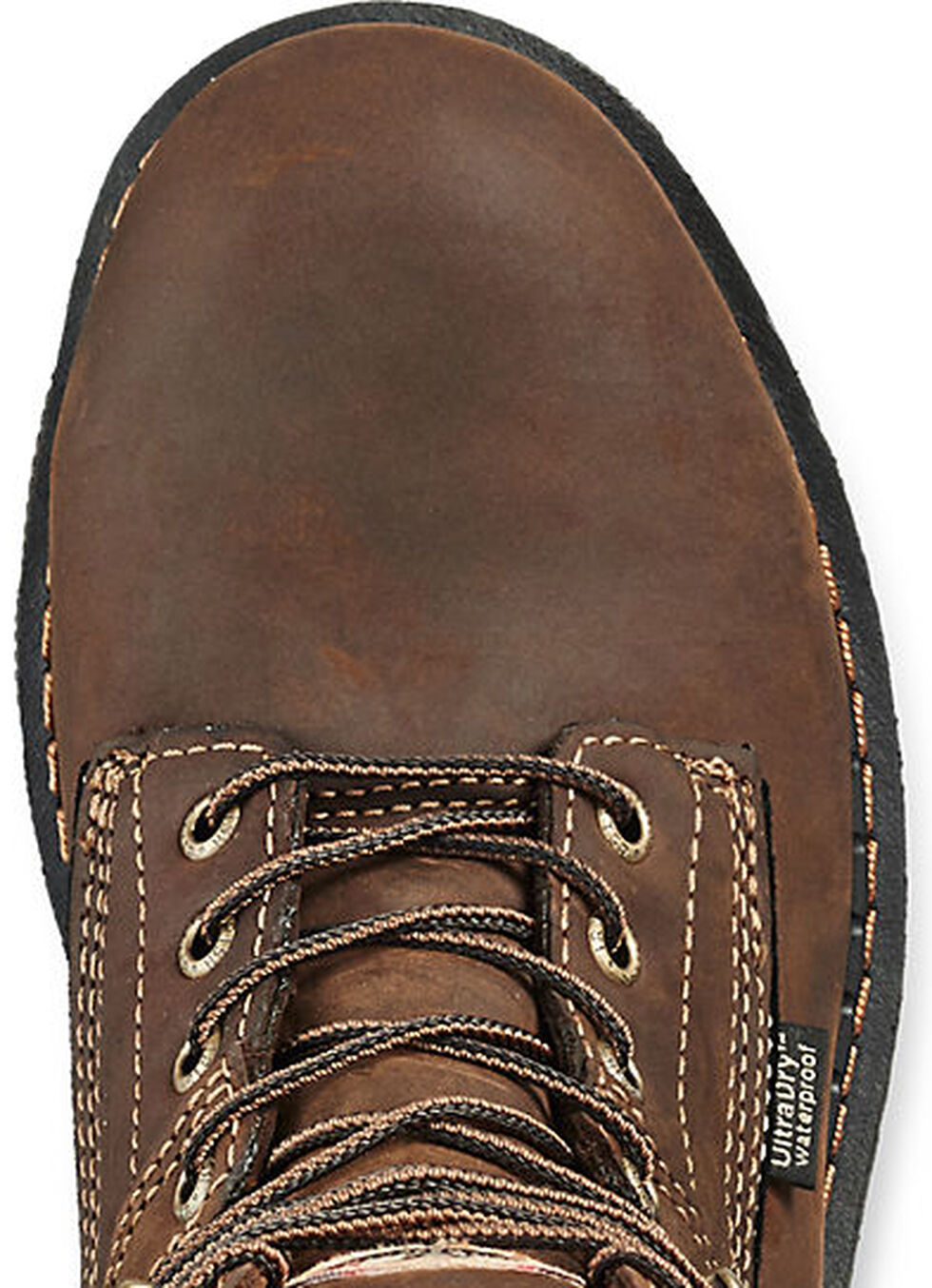 """Irish Setter by Red Wing Shoes Men's Ramsey Waterproof Insulated 8"""" Lace-Up Work Boots - Aluminum Toe , Brown, hi-res"""
