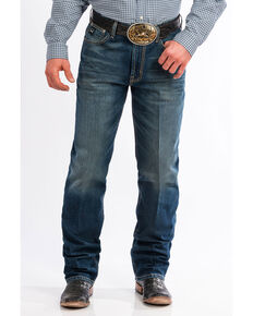 Cinch Men's Black Label 2.0 Loose Fit Jeans , Indigo, hi-res