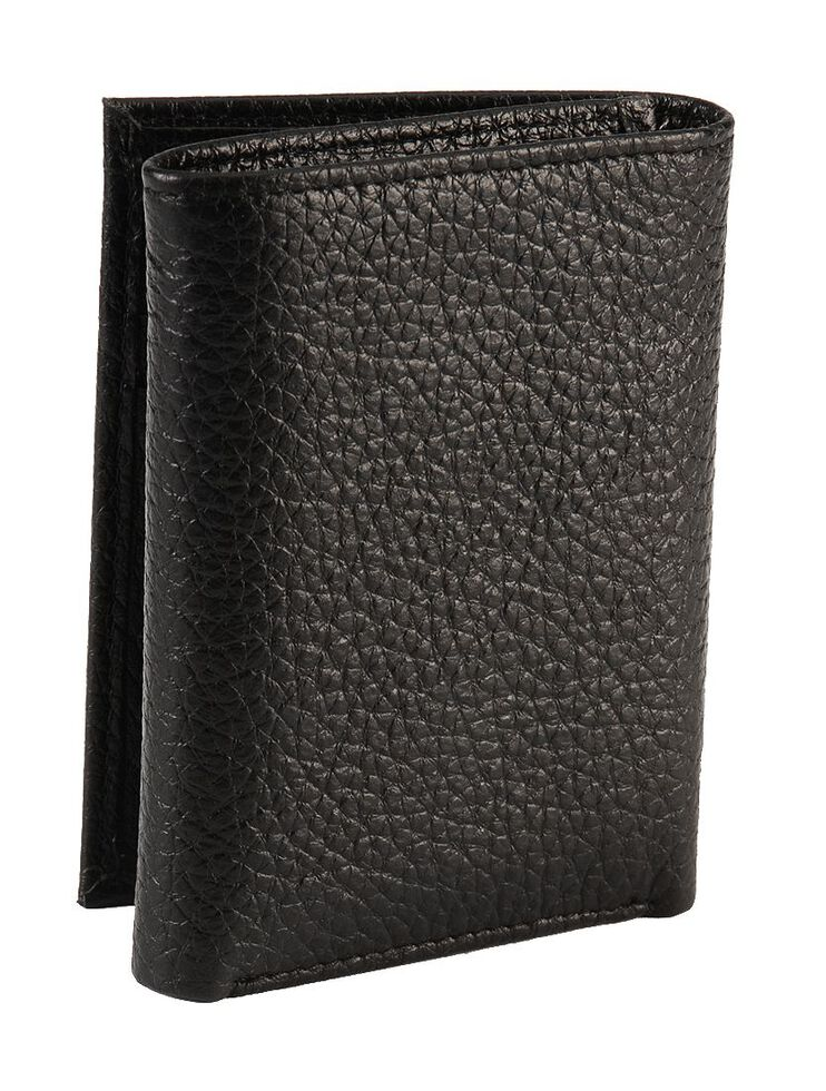 John Deere Tri-Fold Leather Wallet, , hi-res