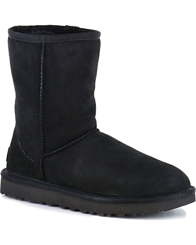 b58fe4304 Zoomed Image UGG Women's Black Classic II Short Boots, Black, hi-res
