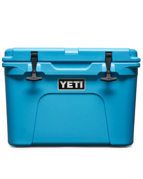 Yeti Coolers Tundra 35 Reef Blue Cooler , Bright Blue, hi-res