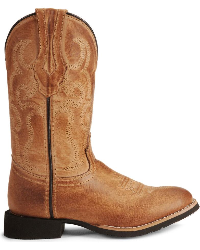 4086958211b Smoky Mountain Youth Boys' Showdown Cowboy Boots - Round Toe