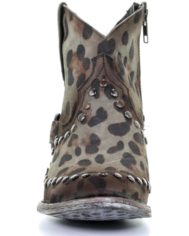 Corral Women's Sage Studded Leopard