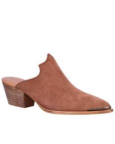 Dingo Women's Tan Knockout Fashion Mules - Snip Toe, Tan, hi-res