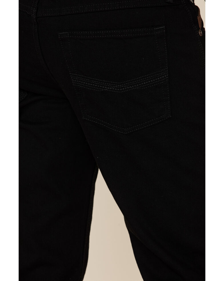 Ariat Men's Black Legacy Stretch Stackable Slim Straight Jeans , Blue, hi-res