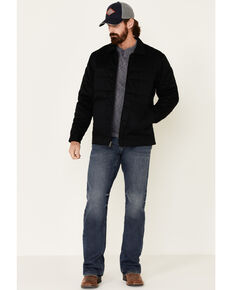 Cody James Men's Black Gaucho Snap Front Field Jacket , Black, hi-res