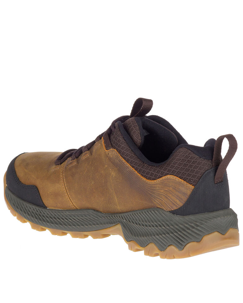 Merrell Men's Forestbound Waterproof Hiking Boots - Soft Toe, Brown, hi-res