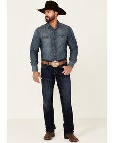 Ariat Men's M7 Dodge Solano Dark Stackable Slim Straight Leg Jeans , Blue, hi-res