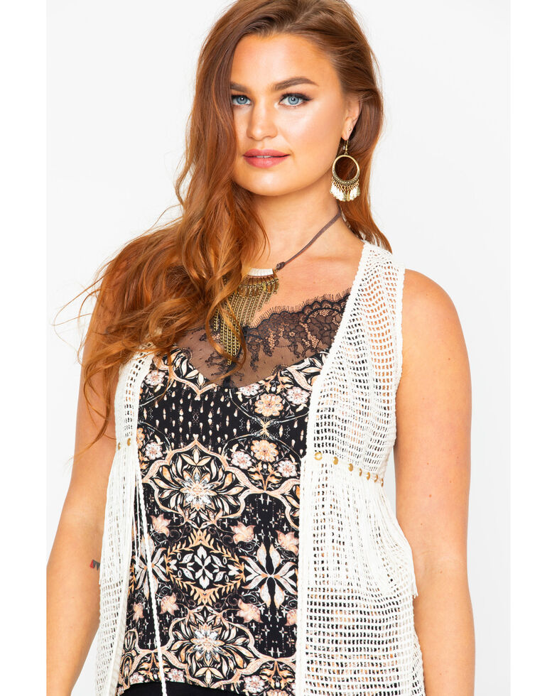 Idyllwind Womens Retro Love Crochet Vest Country Outfitter