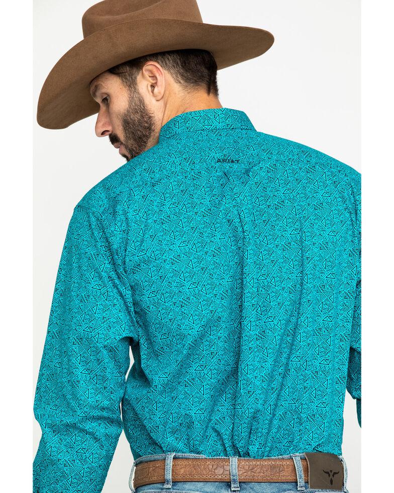 Ariat Men's Kadewater Aztec Print Long Sleeve Western Shirt , Multi, hi-res