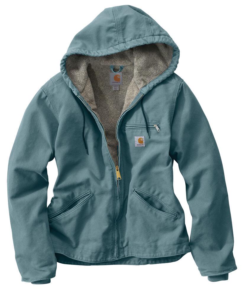 Carhartt Sandstone Sierra Jacket, Steel Blue, hi-res