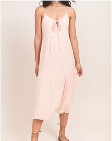 Others Follow Women's Peach Carmel Maxi Dress, Peach, hi-res