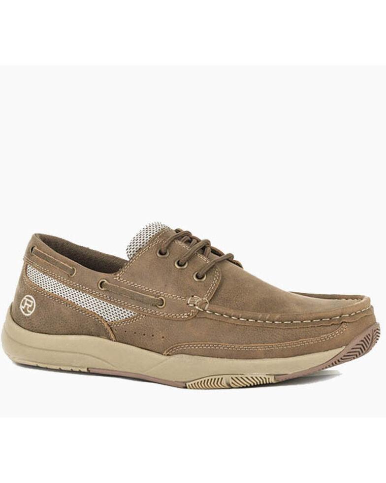 Roper Men's Clearcut Tan Casual Shoes, Tan, hi-res