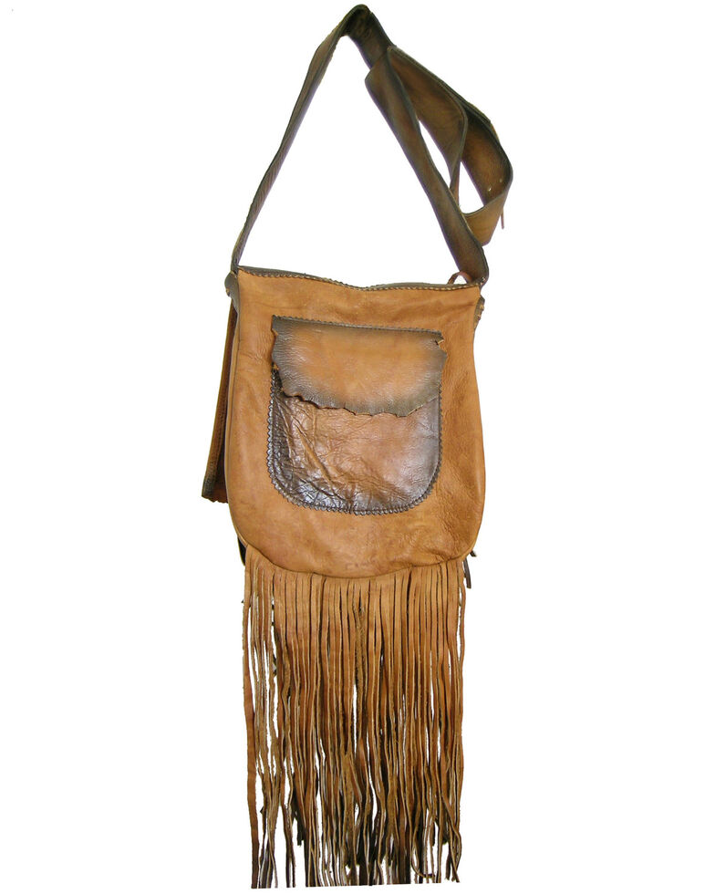 Kobler Leather Women's Beaded Shoulder Bag, Tan, hi-res
