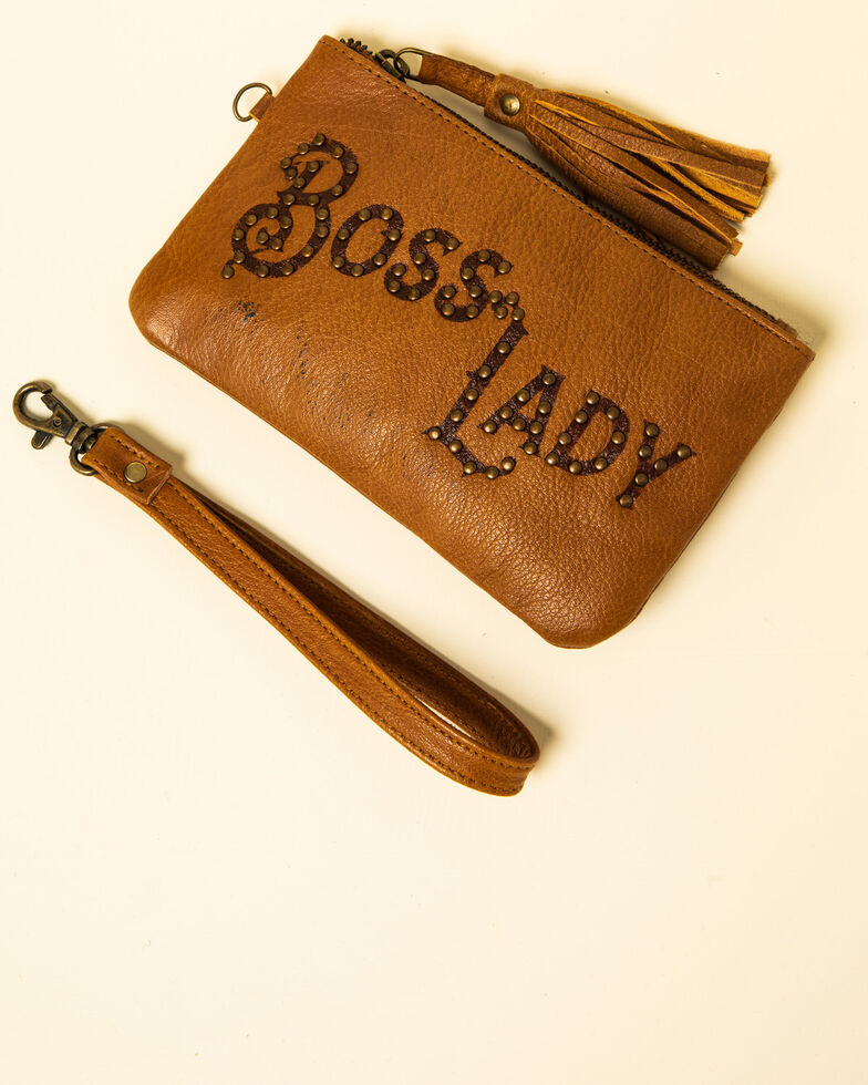 Idyllwind Women's Boss Lady Clutch, Brown, hi-res