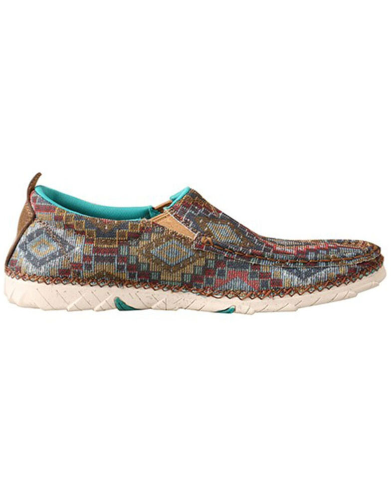 Twisted X Women's Zero-X Slip-On Shoes - Moc Toe, Tan, hi-res