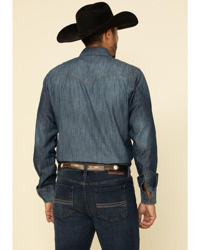 Cody James Men's Switchback Dark Stretch Slim Bootcut Jeans , Blue, hi-res