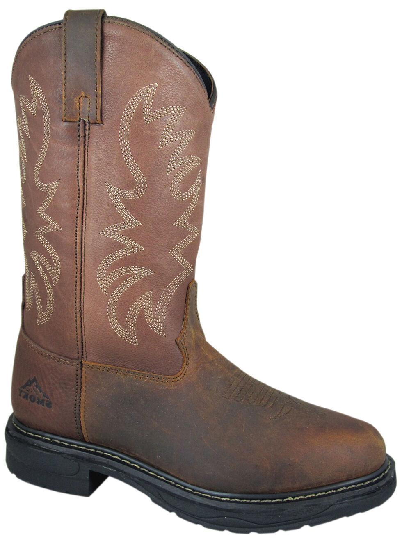 Smoky Mountain Men's Buffalo EH Work Boots - Round Toe, Brown, hi-res