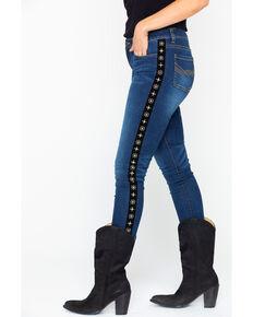 Idyllwind Women's Commander Skinny Jeans , Blue, hi-res