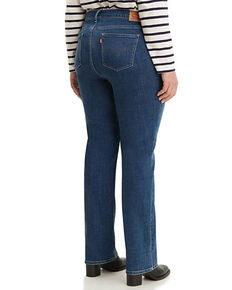 Levi's Women's Classic Maui Waterfall Straight Jeans - Plus, Blue, hi-res
