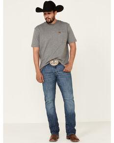 Wrangler Retro Men's Bokan Medium Wash Stretch Slim Bootcut Jeans - Tall , Blue, hi-res