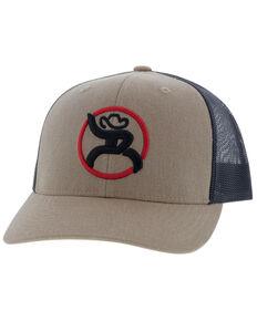 HOOey Boys' Tan Youth Mesh Back Trucker Cap , Tan, hi-res