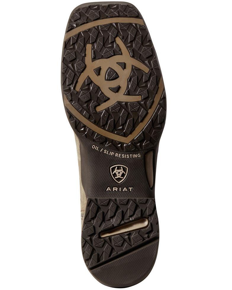Ariat Women's Anthem Deco Western Work Boots - Composite Toe, Brown, hi-res