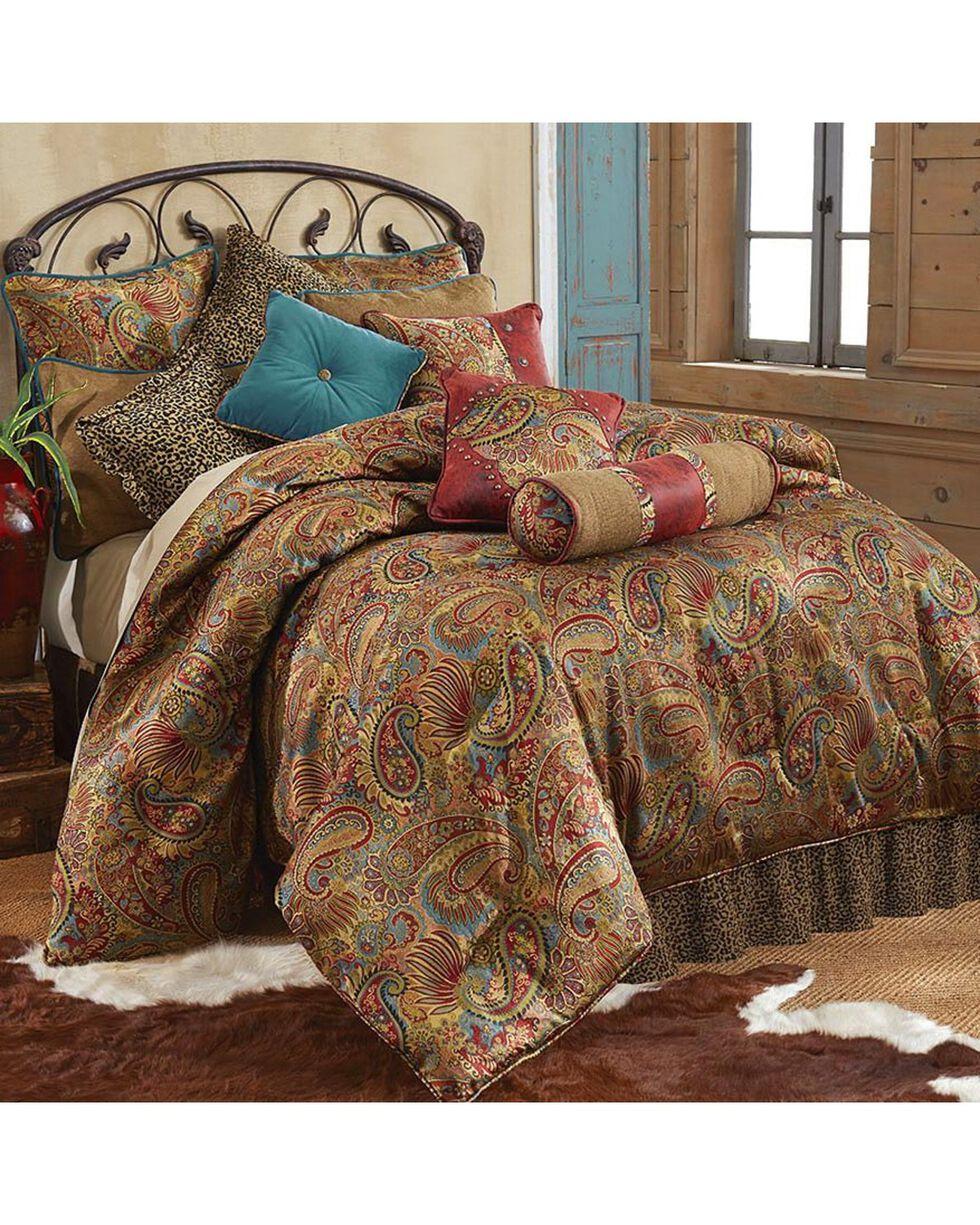 HiEnd Accents San Angelo Leopard Print Twin Size 3 Piece Comforter Set, Multi, hi-res