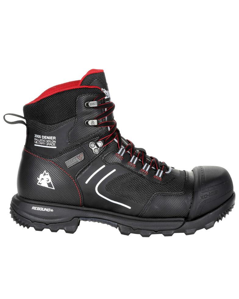 Rocky Men's XO-Toe Waterproof Work Boots - Composite Toe, Black, hi-res