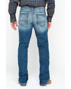 Cinch Men's Grant Relaxed Fit Boot Cut Jeans , Indigo, hi-res
