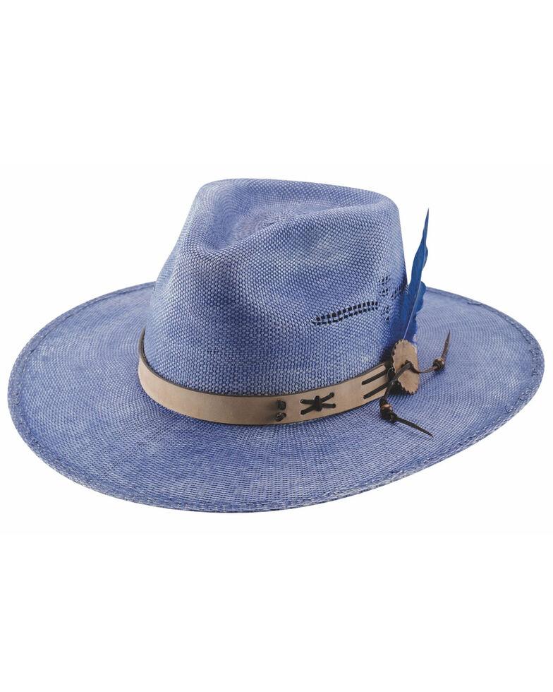 Bullhide Women's Violet Chasing Summer Bangora Straw Fashion Hat , Violet, hi-res