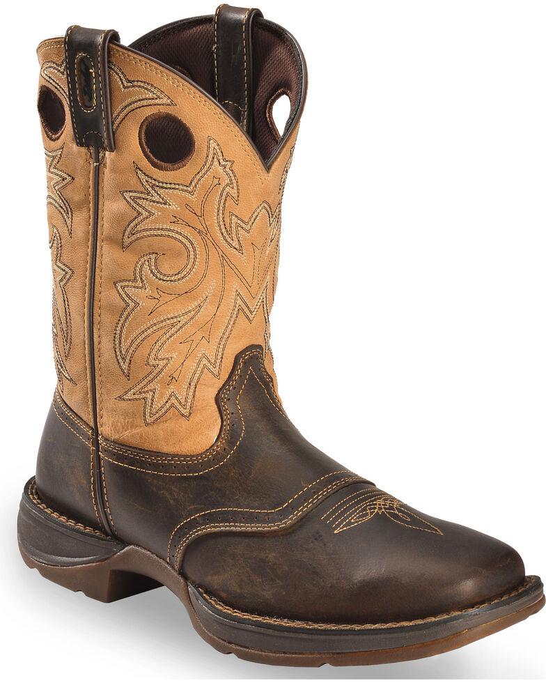 ab3a3a7225d Durango Rebel Saddle Cowboy Boots - Square Toe