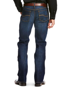 Ariat Men's Blue Relentless Relaxed Jeans - Boot Cut , Blue, hi-res