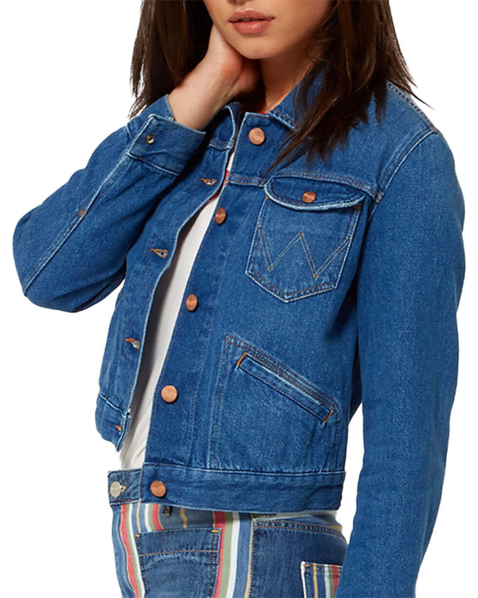 Wrangler Women's 70th Anniversary Retro Denim Jacket, , hi-res