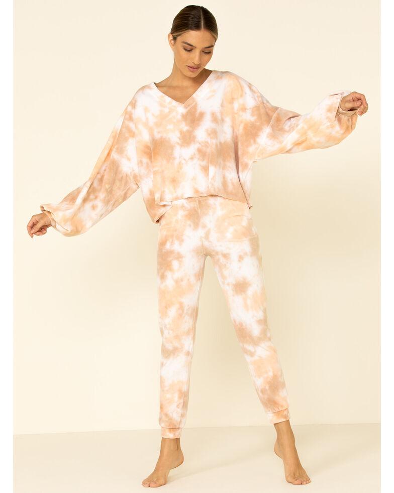 Peach Love Women's Tie Dye Sweatpants, Multi, hi-res