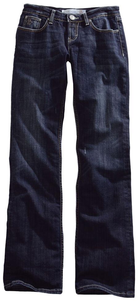 Tin Haul Rosie Deco Stitch Jeans - Boot Cut , Denim, hi-res