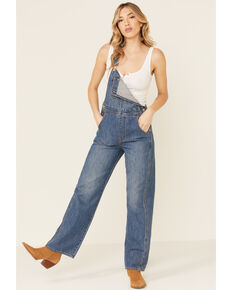 Levi's Women's In The Bag Utility Loose Overalls, Blue, hi-res