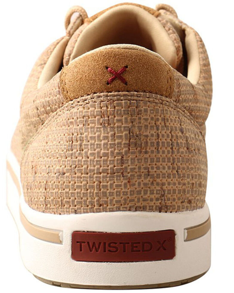 Twisted X Men's Tan Kicks Casual Shoes - Moc Toe, Tan, hi-res