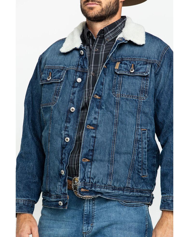 Cinch Men's Concealed Carry Denim Jacket, Indigo, hi-res